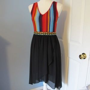 C. Luce Crochet Sleeveless Dress Size - S